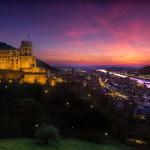 Heidelberg Castle over the oldtown